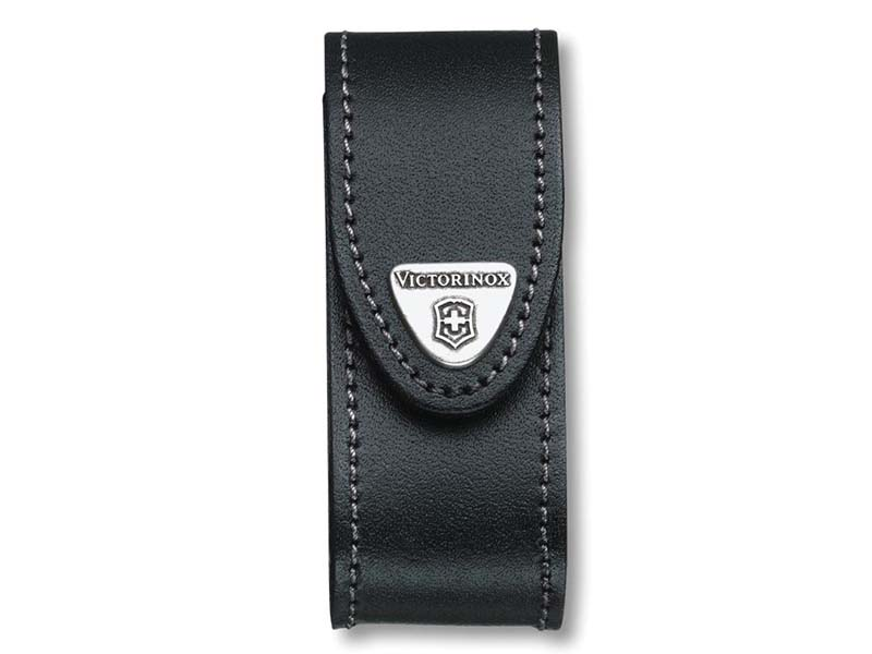 Black Leather Belt Pouch (2-4 Layer) 1