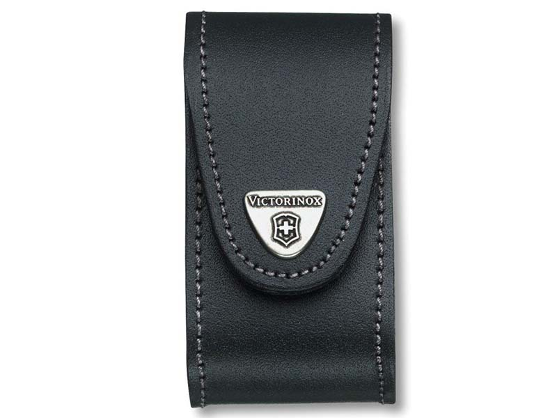 Black Leather Belt Pouch (5-8 Layer) 1