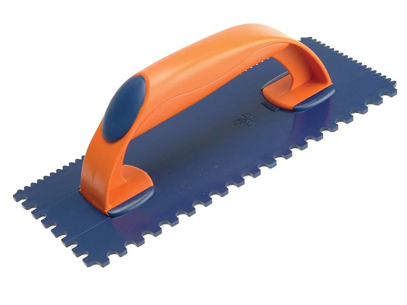 Notched Tile Trowel 4/7mm Plastic 11 x 4.1/2in 1