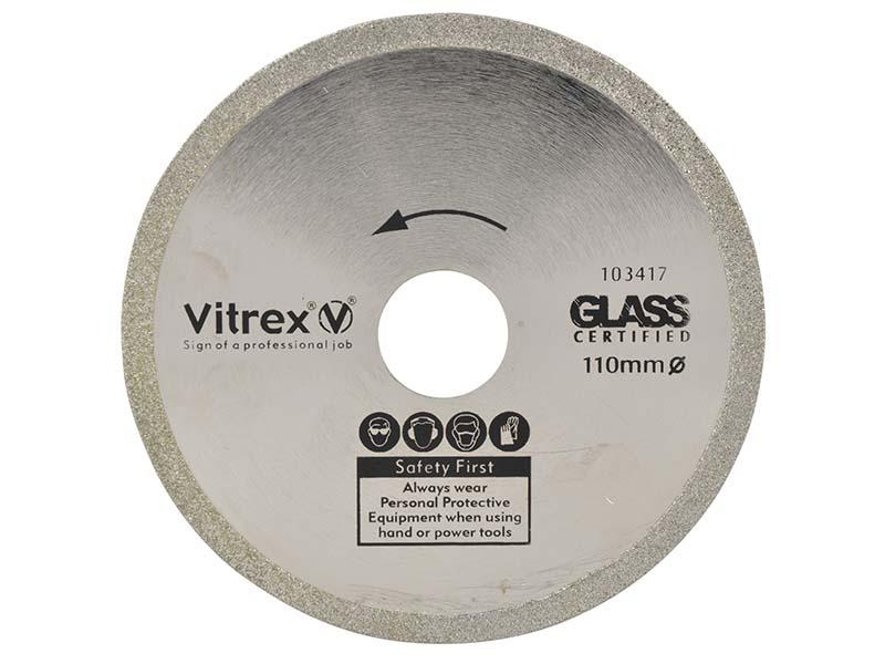 Diamond Blade Glass 110mm 1