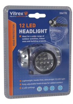 334170 Headlamp 12 LED 10