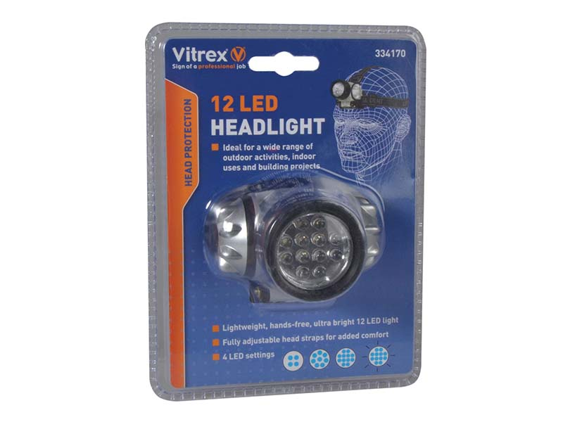 334170 Headlamp 12 LED 1