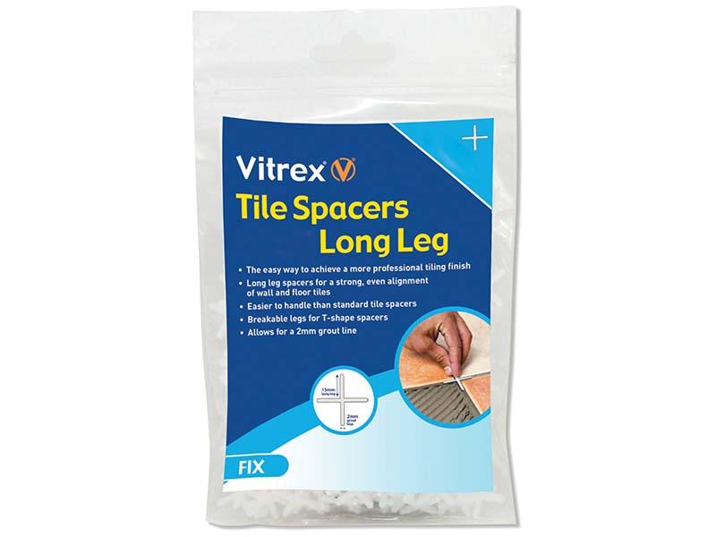 Long Leg Spacer 2mm Pack of 2000 1