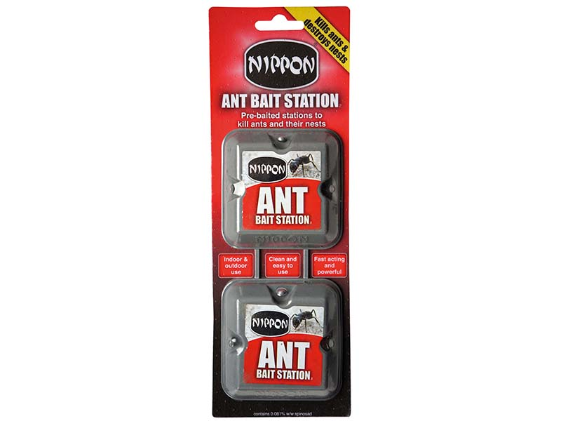 Nippon Ant Bait Station Twin Pack 1