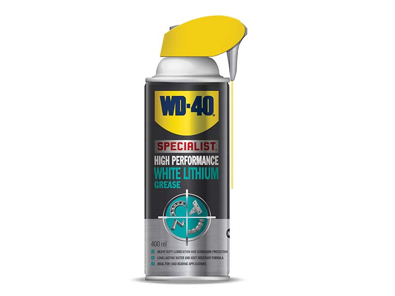 WD-40 Specialist White Lithium Grease Aerosol 400ml 1
