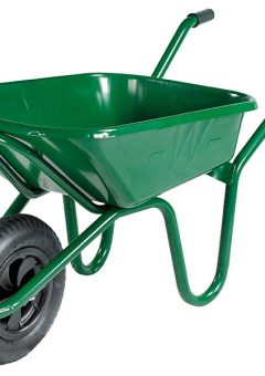 90L Green Heavy-Duty Endurance Wheelbarrow 2