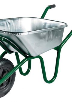 120L Galvanised Invincible Wheelbarrow 1