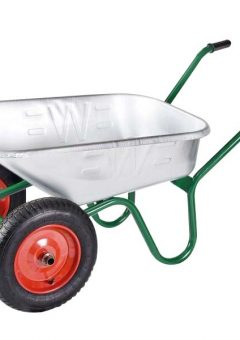 90L Galvanised Windsor Twin Wheelbarrow 4
