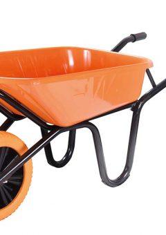 90L Extra Heavy-Duty XL Workhorse Wheelbarrow - Puncture Proof 3