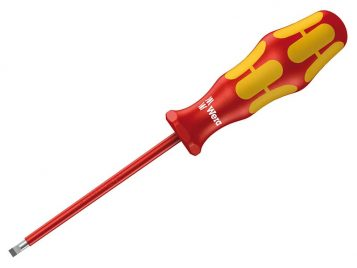 Kraftform Plus 160i VDE Insulated Screwdriver Slotted Tip 4.0 x 150mm 1