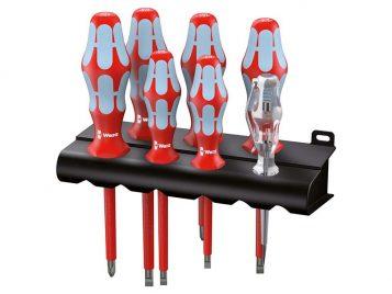Kraftform Plus VDE Stainless Steel Screwdriver Set of 7 SL/PH 1