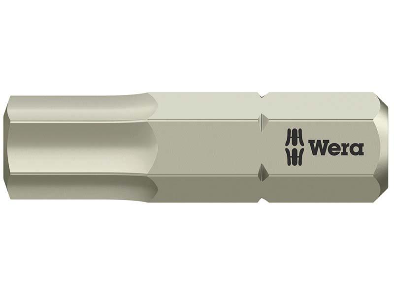 3840/1 TS Torsion Stainless Steel Insert Bit Hex 6.0 x 25mm 1
