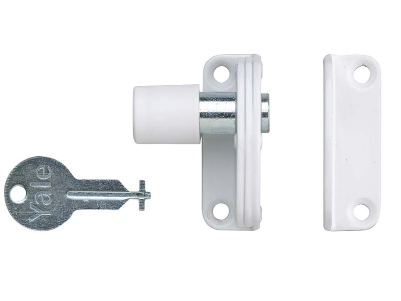 P123 Sash Window Presslock White 1