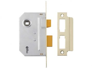 PM246 Internal 2 Lever Mortice Sashlock Polished Chrome 67mm 2.5in 1