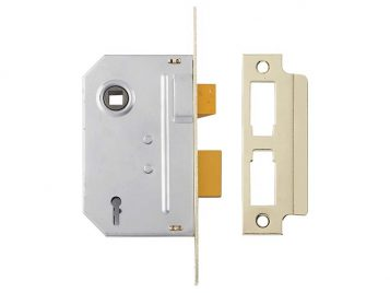 PM246 Internal 2 Lever Mortice Sashlock Polished Chrome 80mm 3in 1