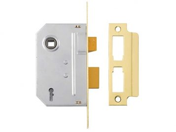PM246 Internal 2 Lever Mortice Sashlock Polished Brass 67mm 2.5in 1