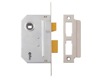 PM320 3 Lever Mortice Sashlock Polished Chrome 65mm 2.5in 1