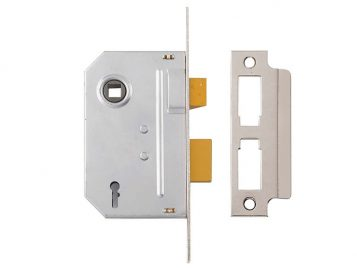 PM320 3 Lever Mortice Sashlock Polished Chrome 79mm 3in 1