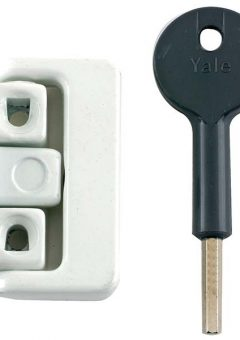 8K101 Window Latches Electro Brass Finish Multi Pack of 4 Visi 12