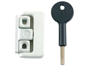 8K101 Window Latch White Finish Visi 1