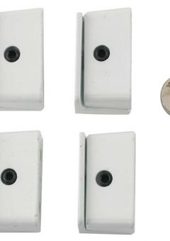 8K109 Window Stop White Pack of 4 Visi 7