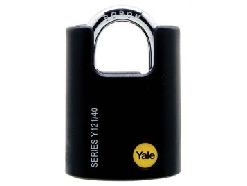 Y121 40mm Brass Padlock Closed Shackle 1
