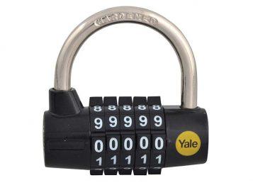 Y160 48mm Steel 5-Dial Combination Padlock 1