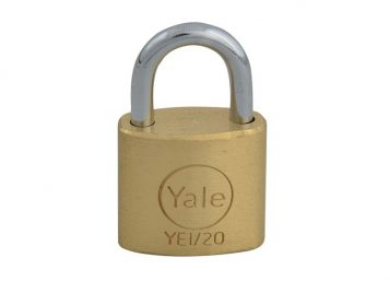 YE1 Brass Padlock 20mm 1