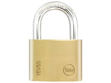 YE1 Brass Padlock 50mm 1