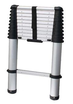 Soft Close Telescopic Ladder 2.9m 3