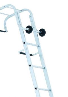 Industrial Roof Ladder 2-Part 1 x 9 & 1 x 10 Rungs 5.95m 3