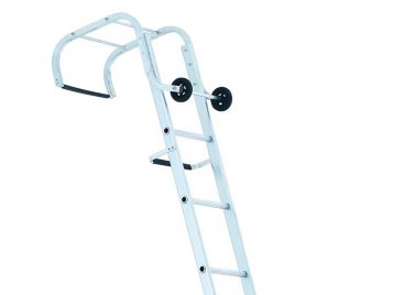 Industrial Roof Ladder 1- Part 14 Rungs 4.65m 1