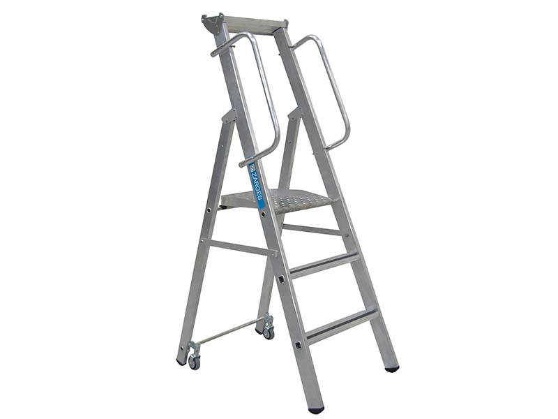 Mobile Mastersteps Platform Height 0.78m 3 Rungs 1