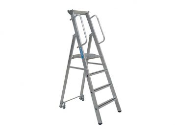 Mobile Mastersteps Platform Height 1.06m 4 Rungs 1