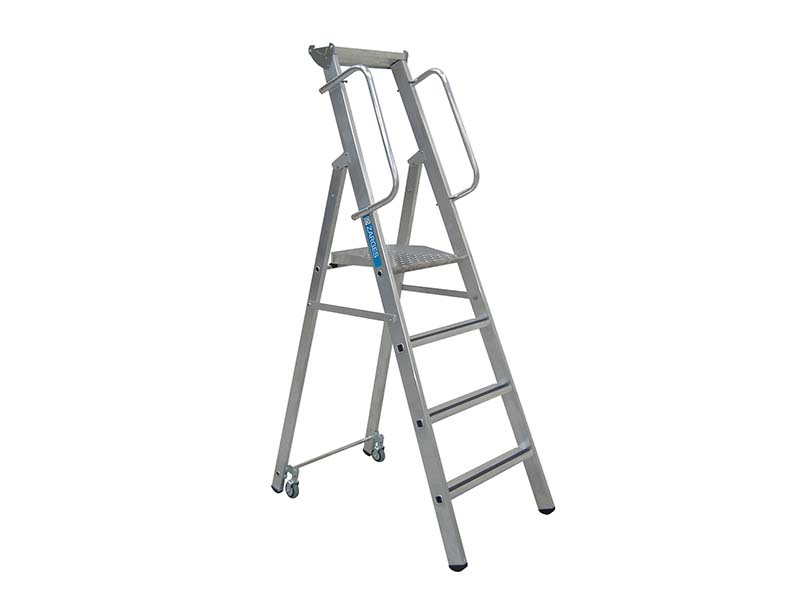 Mobile Mastersteps Platform Height 1.58m 6 Rungs 1
