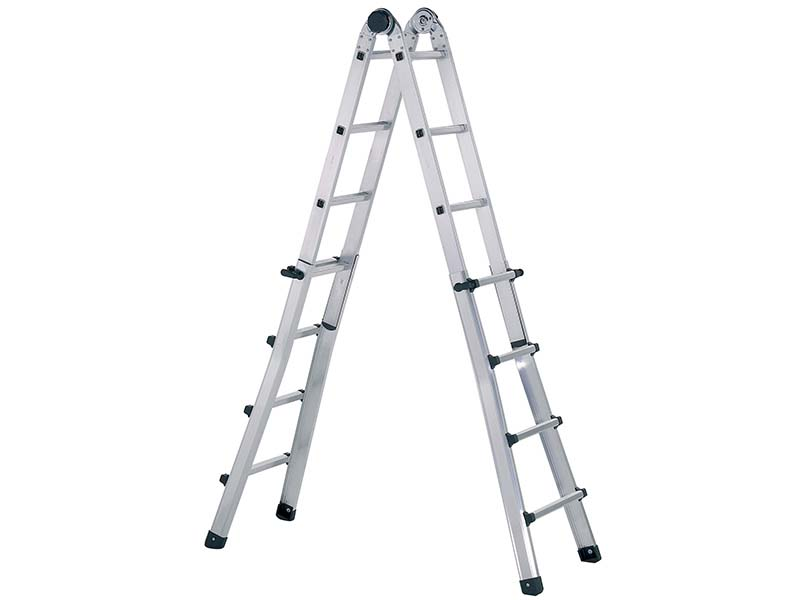 Trade Telescopic Combination Ladder 4 x 6 Rungs 1