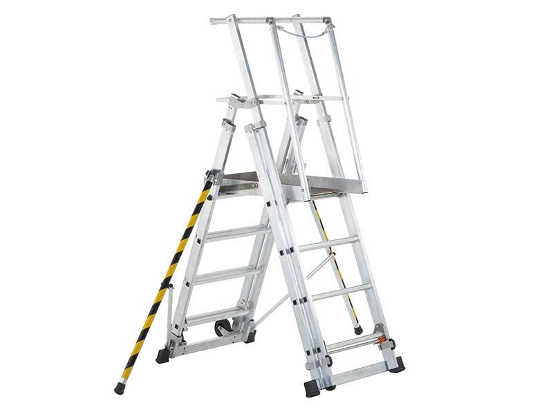 ZAP 1 Access Platform Platform Height 1.0/1.3/1.6/1.8m 4 - 7 Rungs 1