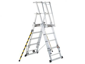 ZAP 2 Access Platform Platform Height 1.3/1.6/1.8/2.1/2.4m 5-9 Rungs 1