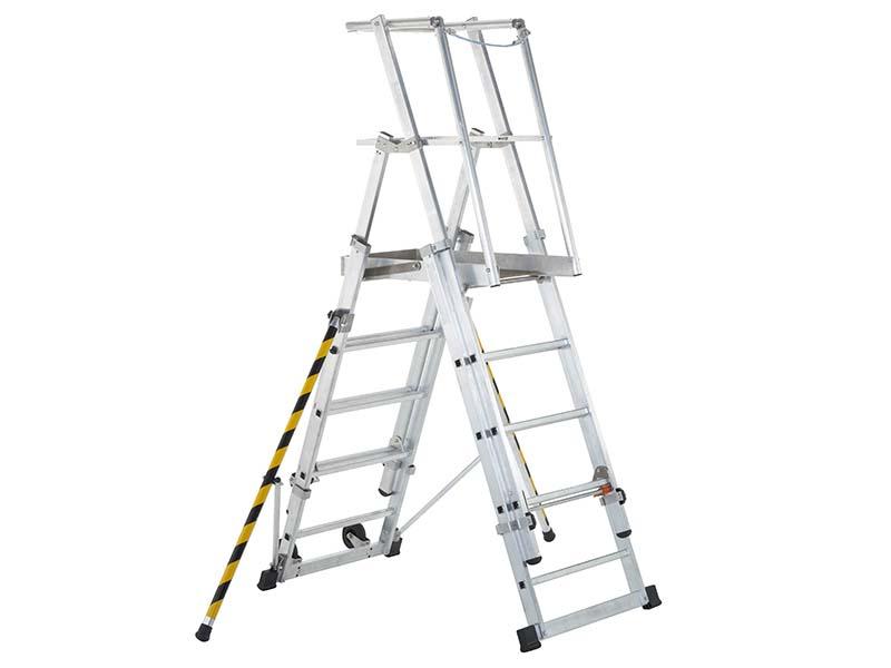 ZAP 2 Access Platform Platform Height 1.3/1.6/1.8/2.1/2.4m 5-9 Rungs 1