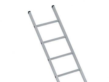 Industrial Single Aluminium Ladder With Stabilser Bar 3.61m 12 Rungs 1