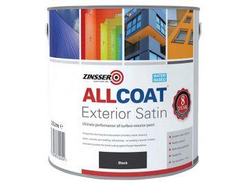 ALLCOAT Exterior Black 2.5 litre 1