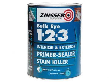 123 Bulls Eye Primer & Sealer Paint 500ml 1