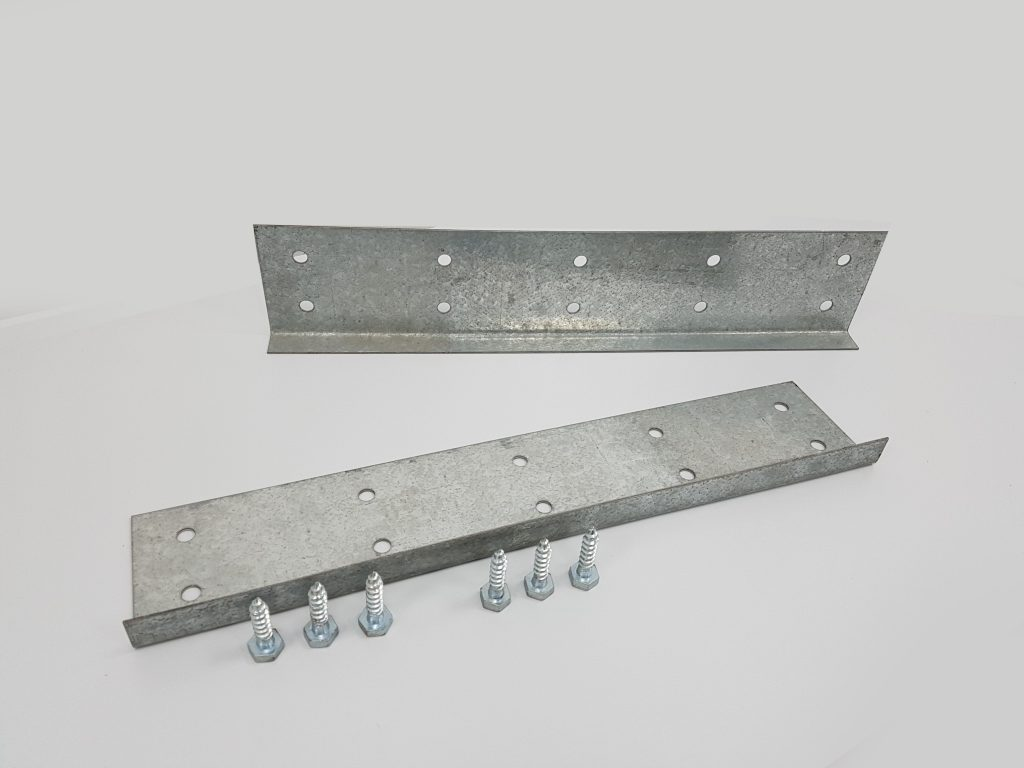 Bower Beams / Joist Repair x 2 (1000mm x 100mm) With Coach Screws 1