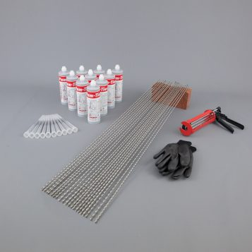 Crack Stitching Kit - 20 x Crack Stitching Bars 1m x 6mm 2