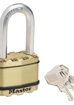Excell™ Brass Finish 50mm Padlock 4-Pin - 51mm Shackle 11