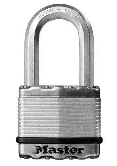 Excell™ Laminated Steel 50mm Padlock - 38mm Shackle 9