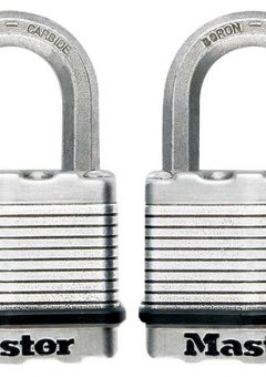 Excell™ Laminated Steel 50mm Padlock - 25mm Shackle - Keyed Alike x 2 6