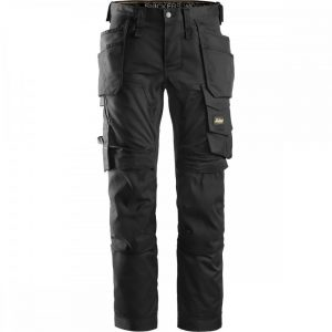 Snickers Trousers 6241 Allround Work Stretch Trouser – Black