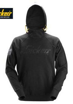 2881 logo hoodie black