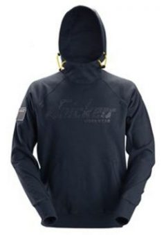 Snickers Hoodie 2881 Logo - Navy 4